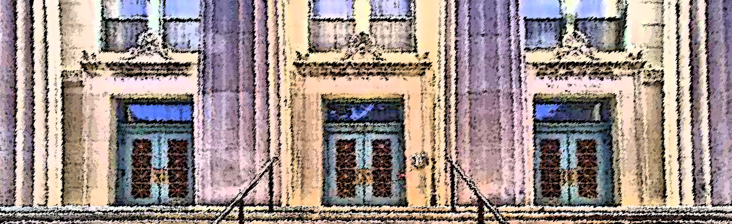 Masonic Temple front doors